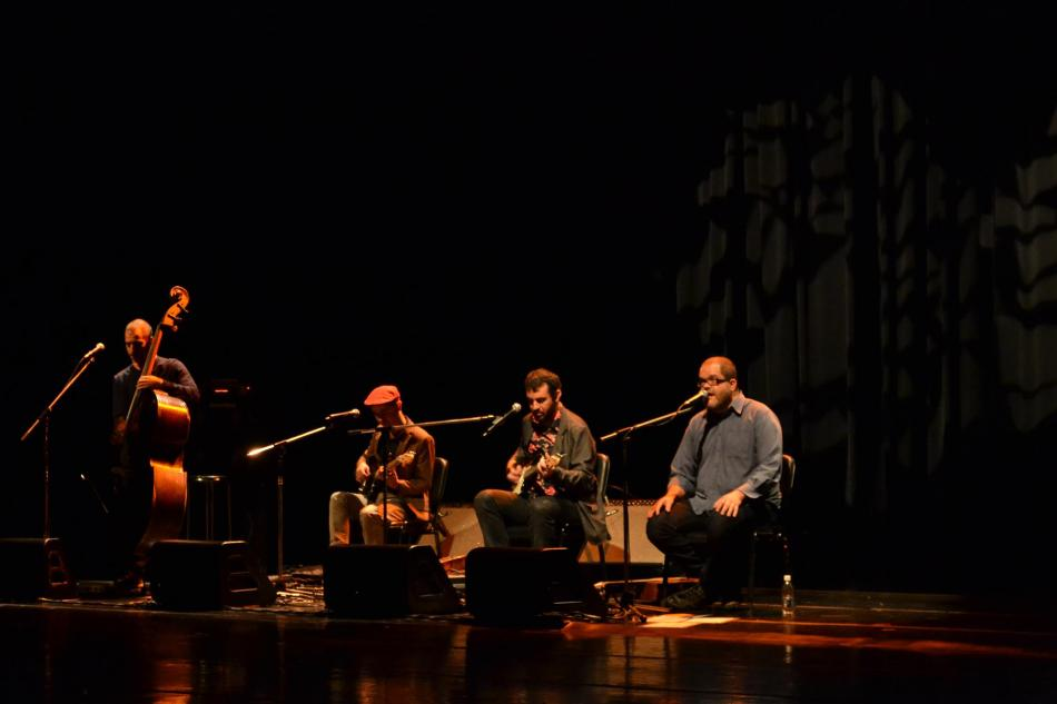 Passo Torto lançando o cd Passo Elétrico. Sesc Vila Mariana. 13.6.2013