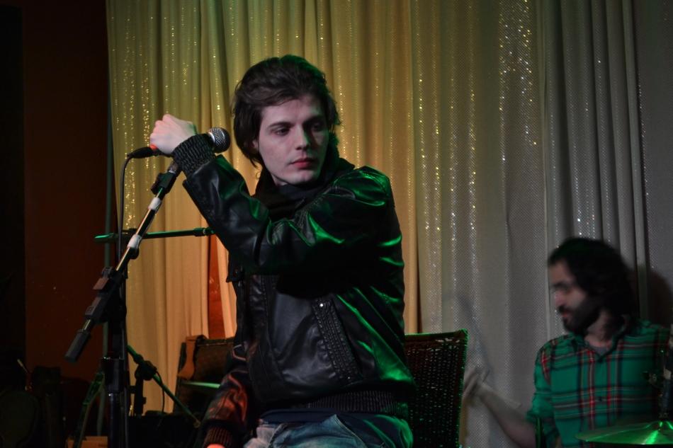 Toni Ferreira no lançamento do primeiro cd. 24.7.2013
