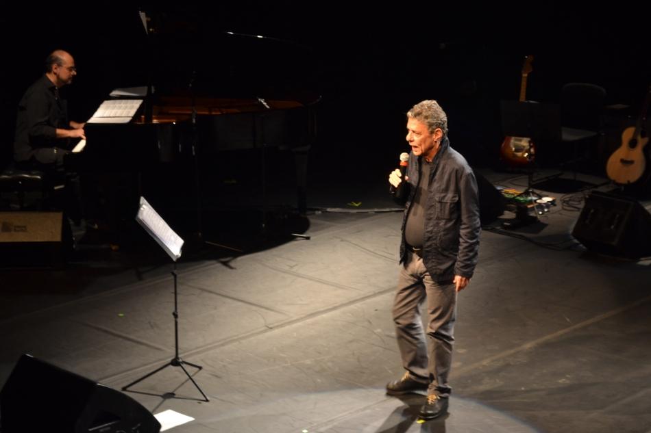 Chico Buarque no lançamento de Ladeira da Memória. 13.7.2013