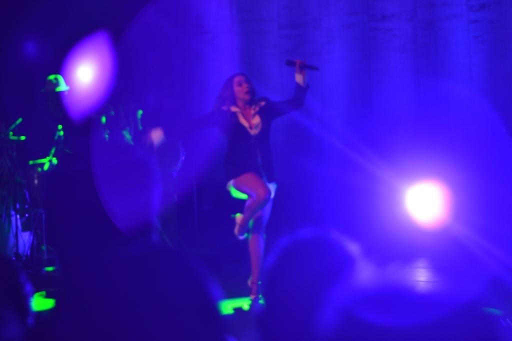 """Daniela Mercury na estreia do seu novo show """"Pelada"""". 6.8.2013"""
