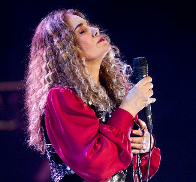 A cantora peruana Tania Libertad. Foto: Divulgação