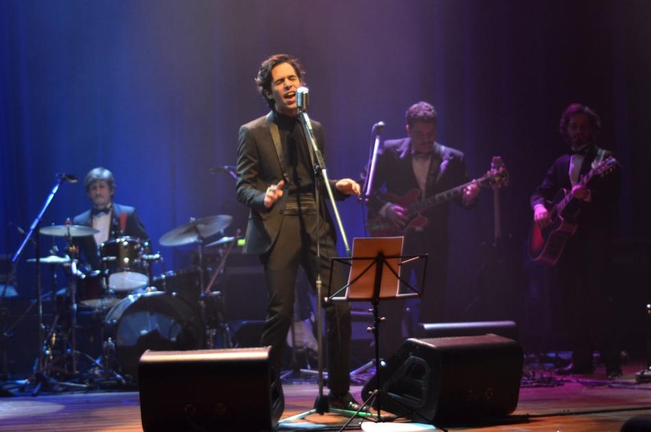 Thiago Pethit no palco do Sesc Vila Mariana. 22.8.2013