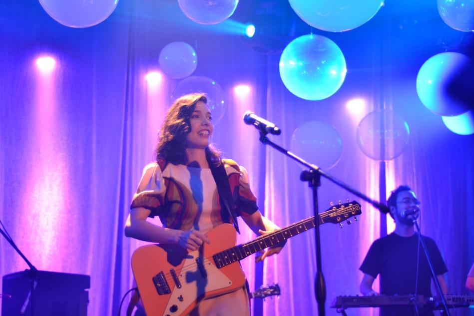 Lulina no palco do Sesc Belenzinho. 22.11.2013