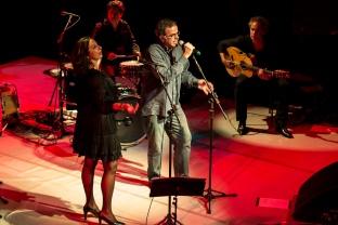 Jussara Silvera e o compositor português Tiago Torres da Silva