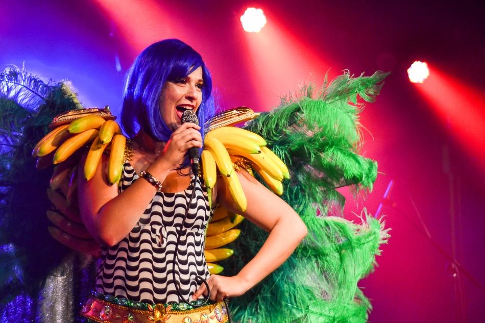 Alice Caymmi no palco do Sesc Belenzinho (Foto: Alexandre Eça)