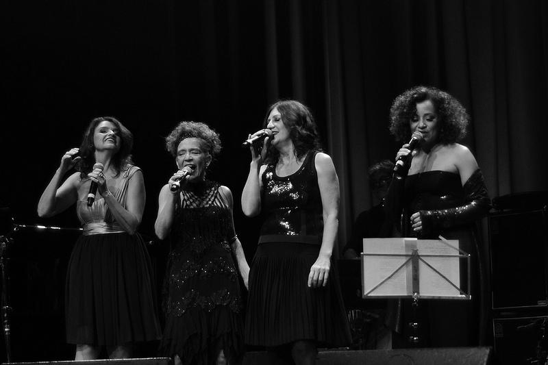 Suzana Salles, Alzira E, Ná Ozzetti e Virgínia Rosa (Foto: Alexandre Eça)