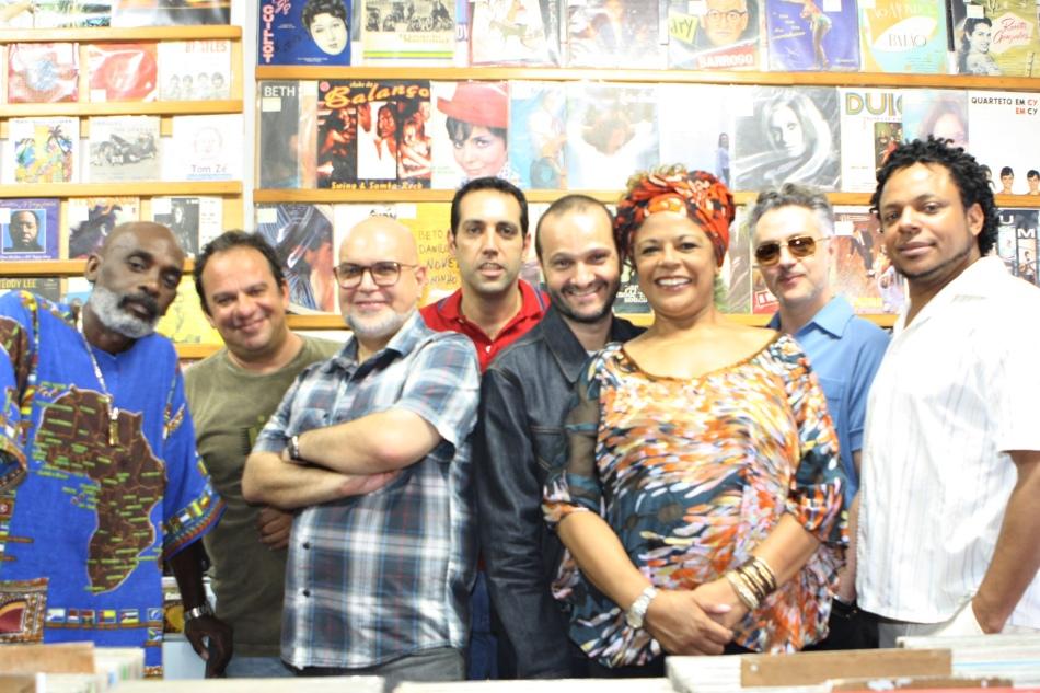 Os integrantes do Clube do Balanço