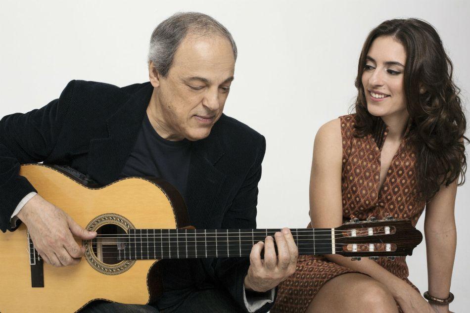 Toquinho e Anna Selton