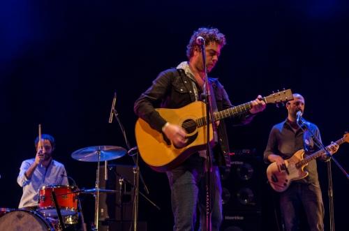 Pélico no palco do Sesc Belenzinho (Foto: Alexandre Eça)