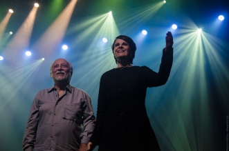 Roberto Menescal e Leila Pinheiro (Foto Alexandre Eça)