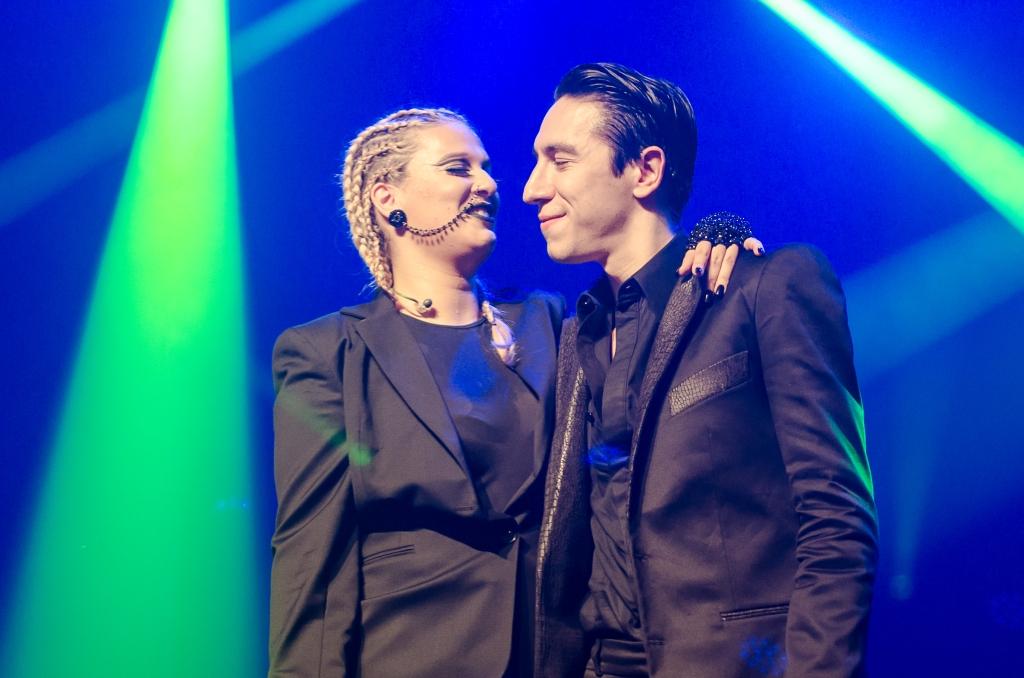 Alice Caymmi e Diogo Strausz (Foto Alexandre Eça)