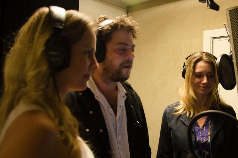 Pélico, Letícia Spiller e Carú Ribeiro (Foto Alexandre Eça)