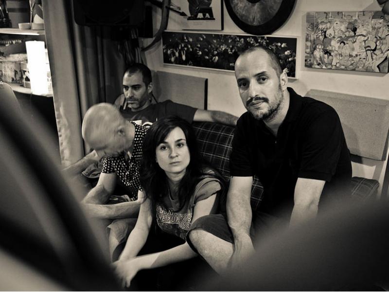 A banda Submarinos (Foto Pedro Strelkow / Divulgação)