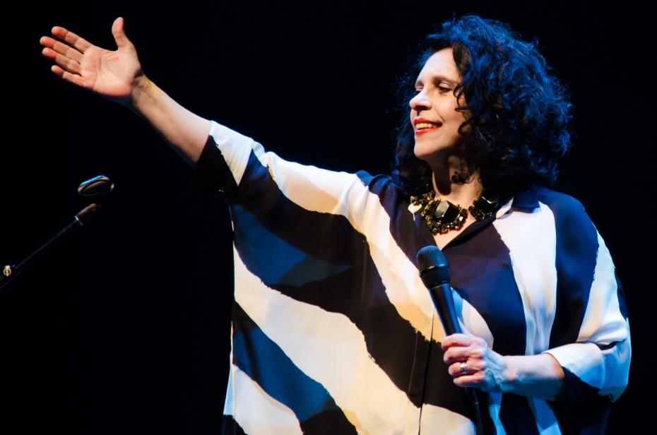 A cantora Gal Costa (Foto Alexandre Eça)
