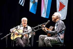 Caetano Veloso e Gilberto Gil (Foto Mariana Cora / Divulgação)