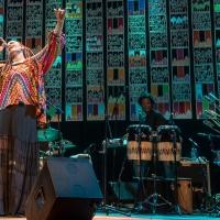 Com a família no palco, Luciana Mello estreia Na Luz do Samba