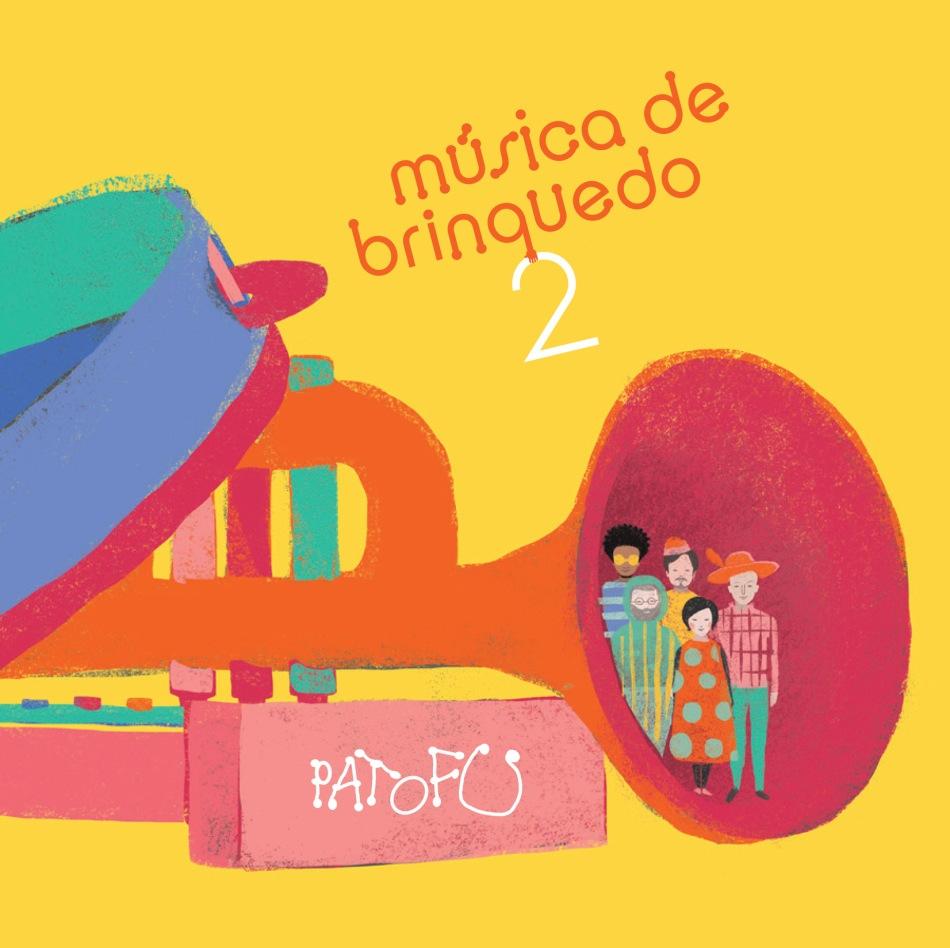Pato Fu - Música de Brinquedo 2 (capa)
